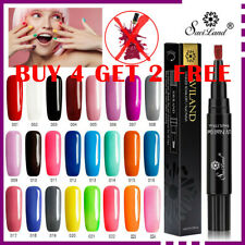 3 in 1 Gel Nail Polish One Step Gel Polish Pen UV Colour No Need Base or Top AU