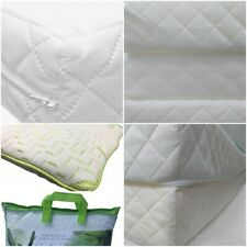 Travel cot mattress 95 x 65 x 7.5 With Free Bamboo Baby Cot Pillow worth £12.00