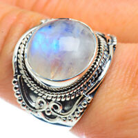 Rainbow Moonstone 925 Sterling Silver Ring Size 9.25 Ana Co Jewelry R43591F