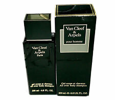 Van Cleef & Arpels Pour Homme All Over Body Shampoo 6.8 oz - Rare in Worn Box