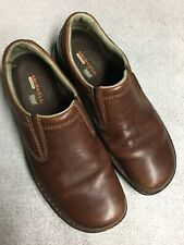 Merrell Men's Brown Leather Slip On Casual Shoes Size Sz 11 Medium Med M