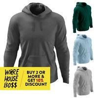 17e653a745c00 MENS WOMENS CASUAL PULLOVER HOODIE PLAIN HOODED SWEATSHIRT WARM LIGHTWEIGHT