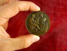 Bronzemedaille Frankreich Lagrange Medaille Offert par le Prefet de la Marne