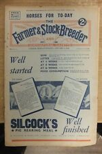 farmer & stockbreeder january 6th 1936 vintage tractors machines implements etc