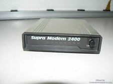 SupraModem 2400 - Model No. 50-2400-0 - with power supply 26-9500-0