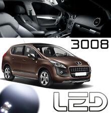 Peugeot 3008 Pack 9 Ampoules LED Blanc Eclairage Plafonnier sols tapis Coffre