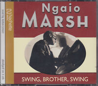 Swing Brother Swing Ngaio Marsh 3CD Audio Book Abridged Anton Lesser FASTPOST