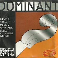 Cordes à l'unité Violon THOMASTIK DOMINANT 1/2 médium 132 1/2 - Ré