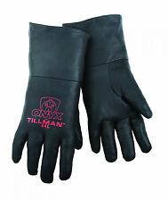 Tillman 44 LARGE TIG Welding Gloves Black ONYX Top Grain Kidskin Leather 1Pair