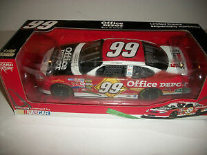CARL EDWARDS 2005 OFFICE DEPOT BACK TO SCHOOL # 99 FORD TAURUS 1:24 DIE CAST