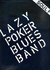 LAZY POKER BLUES BAND soul food GERMAN 1981 EX+ LP + INFO SET
