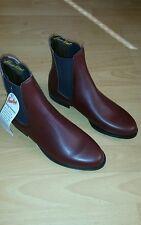 Leather Hawkins Stivali Cavallerizza Jodpur UK 6