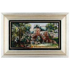 William Woods College Eglomise Painting