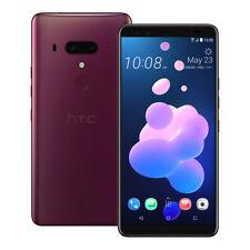 """NEUF HTC U12 Plus (2Q55100) 6"""" 6 Go / 128 Go LTE Dual SIM Débloqué ROUGE"""