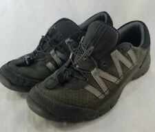 CLARKS COLLECTION Black Gray Casual Lace Up Walking Sneakers Size 6.5 M