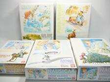 Bandai Studio Ghibli Collection, Nausicaa & Laputa, Plastic Model Kit 5pcs Set