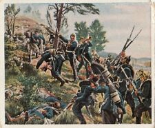 N°203 Schlacht Battle Storming of the Red Mountain Germany 1870 IMAGE CARD 30s