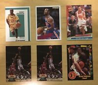 Kenny Anderson With College Rookies (6) Basketball Cards