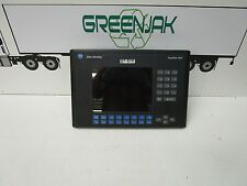 ALLEN-BRADLEY 2711-K10C20 SERIES F REV A ETHERNET RS-232 PANELVIEW 1000 - USED
