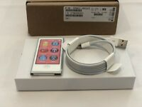 Latest Apple iPod Nano 7th Gen Silver  A1446 Model 16GB