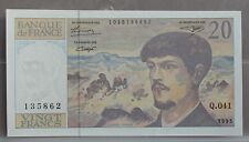 Frankrijk - France :  20 Francs 1993 Debussy  - UNC