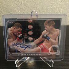 Stephen Thompson UFC Auto 2014 CFA-ST Shipped in Box