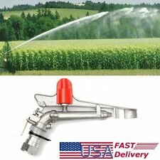1.7'' Irrigation Spray Gun Sprinkler Gun Large 360° Adjustable Impact Area Water
