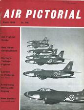 AIR PICTORIAL 4/59 LUFTWAFFE 1946 HORTEN Go229A_MFG SEA HAWK_SAAB LANSEN_AW ARGO