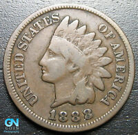 1888 Indian Head Cent Penny  --  MAKE US AN OFFER!  #P7246