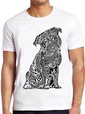 Ethnic Pug T Shirt Mandala Cute Dog Animal Funny Cool Gift Tee 317