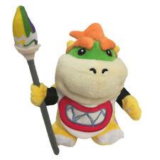 Super Mario Bros Bowser Jr. Brush Pen Koopa Plush Stuffed Figure Toy 7 Inch