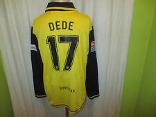 Borussia Dortmund Nike Langarm Matchworn Trikot 2007/08 + Nr.17 Dede Gr.XL TOP