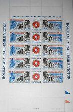 TAAF FSAT 1996 Maury 216A 351-52 217a SHEET Emile Victor Dogs Polarexplorer MNH