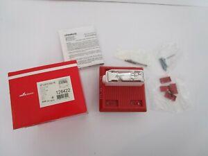 Cooper Wheelock MT-241575W-FR Multitone Fire Alarm Horn Strobe 128422 24 VDC RED