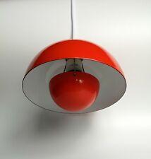 Louis Poulsen Deckenlampe Flower Pot VP1 60's enamel Pedant Lamp Danish Design