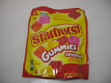 STARBURST GUMMIES ORIGINAL Chewy Candy Cherry Orange Strawberry Lemon 8 oz Bag