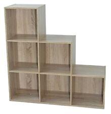 Bibliothèques, étagères et rangements beiges en chêne pour la maison