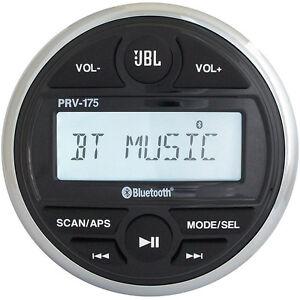 JBL PRV 175 AM/FM/USB/Bluetooth® Gauge Style Stereo JBLPRV175