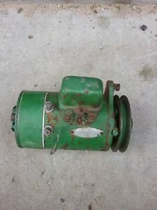 1941 John Deere Model B Generator. Recent rebuild.