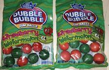Dubble  bubble,STRAWBERRY and WATERMELON, gum balls,1 pkg,,more available