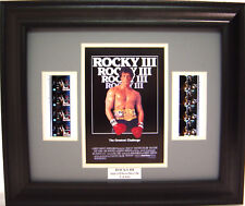 ROCKY III FRAMED MOVIE FILM CELL SYLVESTER STALLONE