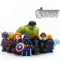 Minifiguren Marvel The Avengers Action Figuren Film Iron Man Spielzeug Thor Neu