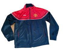 Manchester United Large Jacket Tracksuit Longsleeved Training Top Signs Of Wear