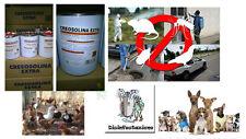12 litri creolina elimina cattivi odori disifezione disifentazione  locali