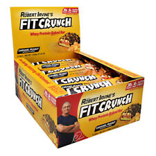 Fit Crunch Bar Caramel Peanut 12 Count