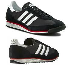 Adidas Originales para Hombre SL72 Zapatillas Clásico Zapatos Vintage Negro