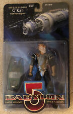 Babylon 5 - Ambassador G'Kar - Action Figure w/Narn Fighter