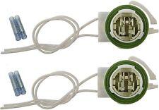 TWO-LS94 Wire Harness Pigtail Light Socket Repair Kit Turn Signal Brake W/SPLICE