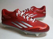 Adidas Adizero Baseball Cleats Size 11 Red NEW SPG 753001