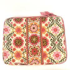 "Vera Bradley Folkloric Floral Laptop Case Bag Sleeve Cover 14"" x 10"""